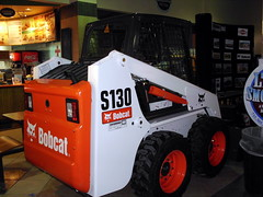 Bobcat S130 Skid Steer. (dccradio) Tags: wisconsin mall farming equipment machinery ag agriculture wi agricultural farmequipment farmshow marshfield farmmachinery centralwisconsin shoppesatwoodridge marshfieldmall wisconsinfarming machineryshow agshowagricultureshow
