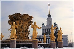 (Serge 585) Tags: city winter snow history fountain architecture frost russia moscow noel neve histoire neige february fro freddo  froid architettura          me2youphotographylevel1