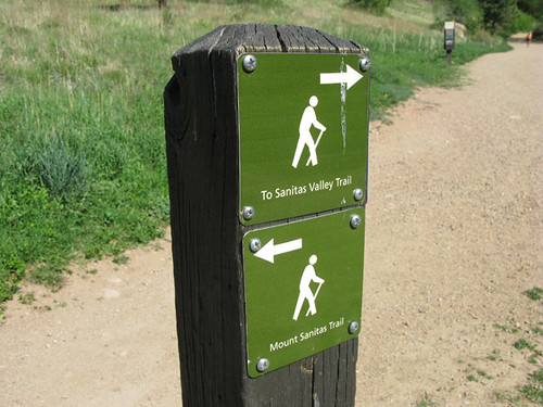 Photo - Wayfinding sign