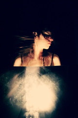 .:6:. (Daniel Iván) Tags: woman abstract blur girl strange mujer chica chest motionblur bones series bone huesos hueso uncanny abstracto serie avantgarde pecho radiography extraño radiografía mujerargentina