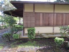 Shuttered windows of teahouse (Joel Abroad) Tags: gardens japanese hawaii shutters hilo teahouse liliuokalani urasenke senshoshitsu shoroan