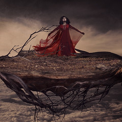 the swift travels of wind-blown sails (brookeshaden) Tags: sky clouds island photography floating select laputa castleinthesky fineartphotography jonathanswift gulliverstravels conceptualphotography brookeshaden shadentextures