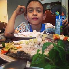 เรื่องดีดีวันนี้ ทำเมนู #ปลานึ่งมะนาว ครั้งแรก #อร่อยสุดๆ สำหรับเวบเลย
