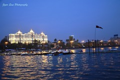 (SoniJigar) Tags: sunset yacht boating mumbai marinedrive seaface saifee saifeehospital