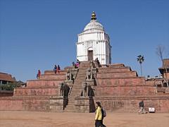 Le temple de Fasidega (Bhaktapur) (dalbera) Tags: temple shiva bhaktapur npal fasidega dalbera valledekatmandou artnewar