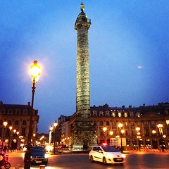 Place Vendme - Paris (OnaMissionMedia) Tags: square lofi squareformat iphoneography instagramapp uploaded:by=instagram