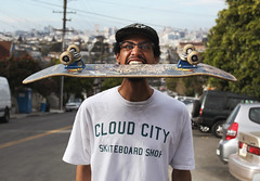 Day 84/365 - Skate Head (Sean Culligan) Tags: sf city cloud shop project photo day sean every skate skateboard 365 everyday culligan