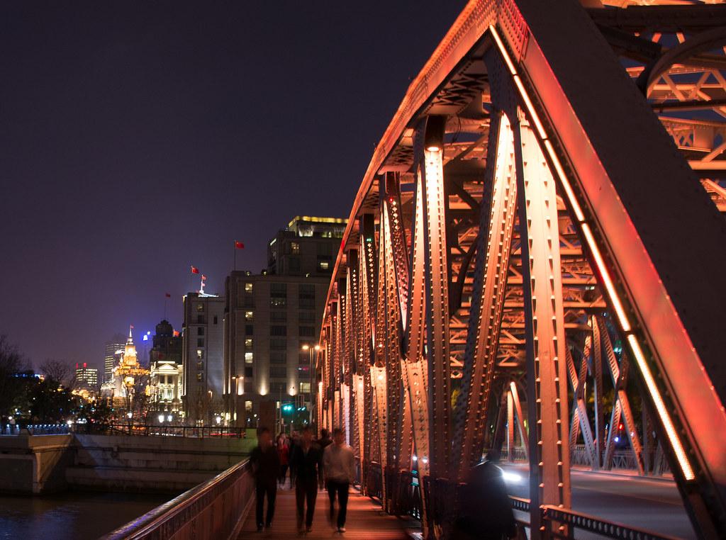 Waibaidu Bridge by David Leo Veksler, on Flickr
