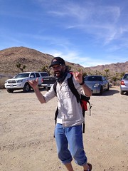Joshua Tree hike. ExhausTED. (andrewnemr) Tags: sayed ayesha