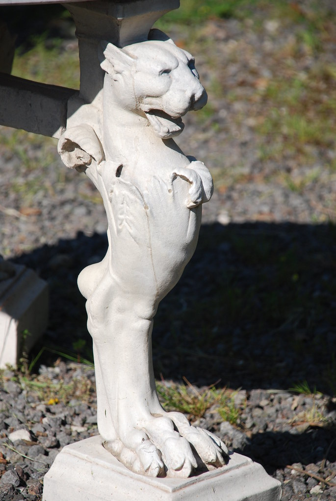 Lion Paw Table Leg (PLawston) Tags: Italy Table Ruins Roman Head Leg Lion