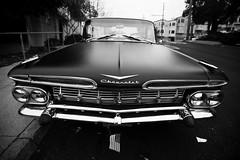el camino (eb78) Tags: sf sanfrancisco california ca blackandwhite bw classic chevrolet monochrome car chevy elcamino grayscale 1959 potrerohill greyscale