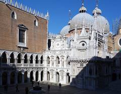 Basilica of Saint Mark from the Courtyard of the Doge's Palace, Venice