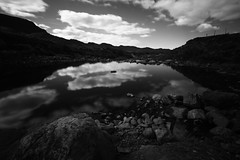 Loch Damh (Dave Smith) Tags: bw ndfilter lochdamh 10stopfilter leebigstopper ds:camera=eos5dmarkii ds:source=camera