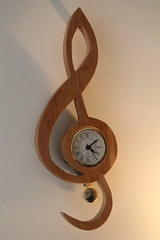 Time For Music (Rach_ATL) Tags: music clock mine clef treble