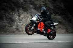 Bike Canyon (jomiller613) Tags: california red black bike speed honda interesting canyon racing riding motorcycle popular leaning stunts punisher photooftheday cbr600rr