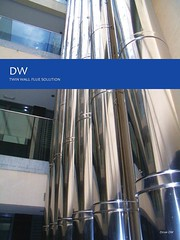 Airtherm DW Twin Wall Flue Systems page 1 (Airtherm Eng Ltd) Tags: chp flue chimneys stacks biomass boilers dilution hamworthy dinak midtherm chimneyliners stainlesssteelflues