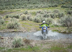 Easy (Trail Image) Tags: idaho riding motorcycle badmemory benjohnson kawasakiklr650