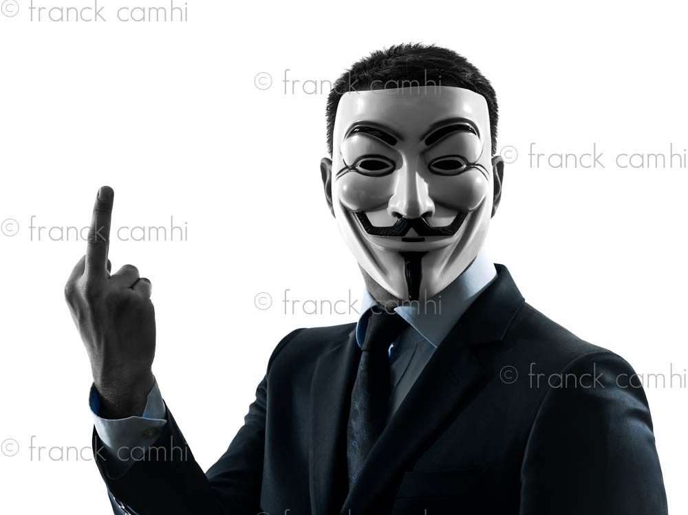 anonymous man suit - photo #12