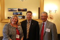 Senator Begich with the American Heart Association (Senator Mark Begich) Tags: alaska health healthcare aha americanheartassociation begich markbegich