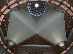 Musée d'Art Islamique - Museum of Islamic Art, Doha (blafond) Tags: museum architecture mia pei doha qatar islamicart museumofislamicart