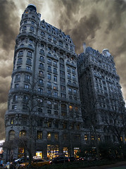 Ansonia Dreams (Jersey JJ) Tags: new york city nyc sky composite hotel apartments ominous manhattan ansonia