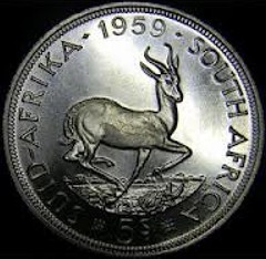 Our friends in the North. (allhails) Tags: southafrica coinage numismatics