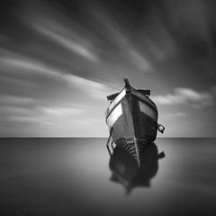 My Boat 4 (Moises Levy L) Tags: longexposure lake clouds lago boat ship escenario valle bote