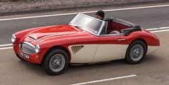 1963 Austin Healey 3000 (Mark Hobbs@Chepstow) Tags: uk copyright macro wales nikon flickr cymru nikkor dslr fx chepstow monmouthshire sigma105mm nikond600 worldcars markhobbs
