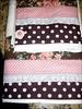 """DTB_BROWN-ROSE5 (""""ARTEIRICES"""" By RÔ IANGUAS) Tags: flores shower bolinhas fuxico rosas presentes poas toalhas fuxicos customização rosaechocolate jogosdetoalhas jogosdebanho"""
