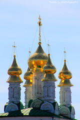 Golden Domes (gráce) Tags: church architecture domes orthodoxy