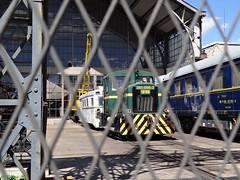Verde tren (Caty V. mazarias antoranz) Tags: rust abstracto roto xido estropeado cosasoxidadas
