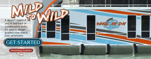 Flickriver Most Interesting Photos Tagged With Boatvinylgraphics - Custom designed houseboat graphics