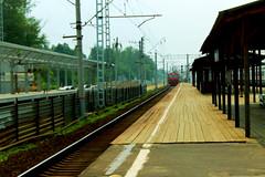 Railway station (Yana Lupach) Tags: road trip railway