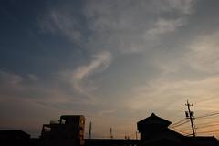 Sunset 2016/07/24 (Junko S. Photography) Tags: fujifilmxt10 fujifilm xt10 xf16mmf14rwr xf16mm 16mm sky sunset cloud