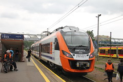 20160717 0753 (szogun000) Tags: rzeszw poland polska railroad railway rail pkp station rzeszwgwny ezt emu set electric newag impuls en63a 36wea 36wea003 en63a003 pr przewozyregionalne train pocig  treno tren trem passenger commuter regio 39326 d2971 d2991 d29106 podkarpackie podkarpacie subcarpathia canon canoneos550d canonefs18135mmf3556is