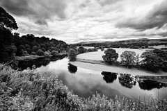Ruskin's View (nigelhunter) Tags: ruskin view lune meander river john turner england reflection clouds tree landscape kirkby lonsdale