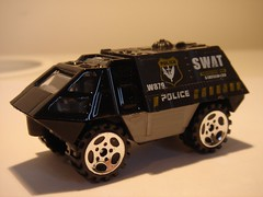 DOUBLE HORSES GENERIC ARMOURED RESPONSE VEHICLE POLICE SWAT MATCHBOX COPY 1/64 (ambassador84 OVER 6 MILLION VIEWS. :-)) Tags: doublehorses matchbox armouredresponsevehicle diecast
