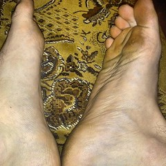 Sniff and lick my big dirty feet. (masterdanhot) Tags: male feet boy sniff lick slave master