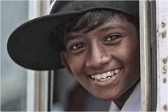 Kids (cisco image ) Tags: srilanka batticaloa portrait ritratto boy soul soulsound eyes occhi presenze presence canon5d 135mm bus