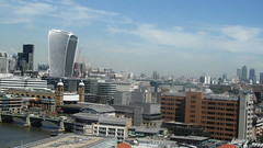 View from 10th floor of the new Tate Modern (Londrina92) Tags: london londra view landscape panorama tatemodern thames tamigi fiume river