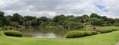 Panorama sur le Rikugi-en (StephanExposE) Tags: japon tokyo japan jardin garden rikugien eau water canon 600d 1635mm 1635mmf28liiusm nuageux cloud cloudy nuage stephanexpose