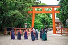 (蔡藍迪) Tags: 50mm 18g japan japanese d600 nikon nidomenokyoto kyoto 京都 日本 nipon torii 鳥居 下鴨神社 下鴨 二度目の京都
