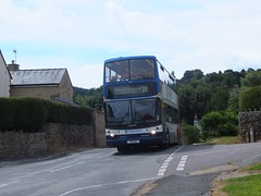Stagecoach Yorkshire 17008 Holymoorside (Guy Arab UF) Tags: stagecoach yorkshire 17008 1901he 1999 dennis trident alexander alx400 bus holymoorside derbyshire buses south west s808bwc east london ta8