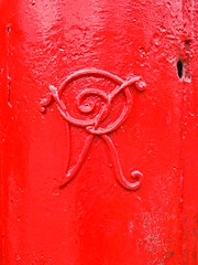 366 - 241 (ttelyob) Tags: 366 3660241 postbox red victorian picmonkey