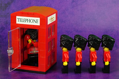 """Call"" it Discipline! (Lesgo LEGO Foto!) Tags: lego minifig minifigs minifigure minifigures collectible collectable legophotography omg toy toys legography fun love cute coolminifig collectibleminifigures collectableminifigure royalguard royal guard london england unitedkingdom uk royalphonebooth phone booth telephone redphonebooth redphonebox royalphonebox red box"