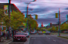 Spadina Avenue traffic 3-D ::: HDR/Raw Anaglyph Stereoscopy (Stereotron) Tags: toronto to tdot hogtown thequeencity thebigsmoke torontonian downtown spadina avenue north america canada province ontario streetphotography urban citylife traffic architecture daylight anaglyph anaglyph3d redcyan redgreen optimized anaglyphic anabuilder 3d 3dphoto 3dstereo 3rddimension spatial stereo stereo3d stereophoto stereophotography stereoscopic stereoscopy stereotron threedimensional stereoview stereophotomaker stereophotograph 3dpicture 3dglasses 3dimage twin canon eos 550d yongnuo radio transmitter remote control synchron in synch kitlens 1855mm tonemapping hdr hdri raw cr2