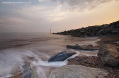 Sidmouth Beach, East Devon (Daryl 1988) Tags: devon eastdevon coast southwestcoastpath landscape seascape waterscape nikon sky clouds sidmouth colour sunset sundown waves sea ocean rocks photography photo d2xs beach sand seaside seafront town