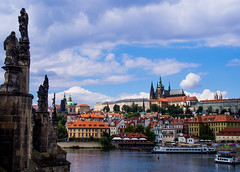 Prague (Matthew Usher) Tags: prague praha water czech republic europe travel olympus epl6 holiday explore outdoors bridge cityscape waterfront outdoor architecture city