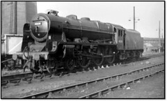 Patriot on Willesden (john48677) Tags: patriot 45530 sir frank ree willesden shed sixties steam