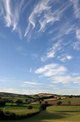 Evening light over Yarde Downs (petehem) Tags: bradninch devon hemington evening yarde downs clouds